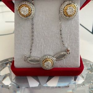 Jewelry Earrings and necklace set